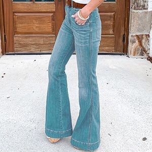 NWT! Size 7 Wide Leg Jeans